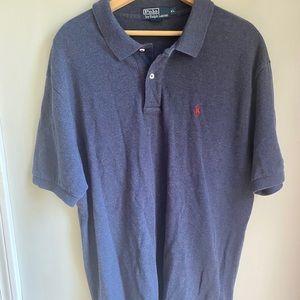 Polo by Ralph Lauren | mens blue polo shirt xl